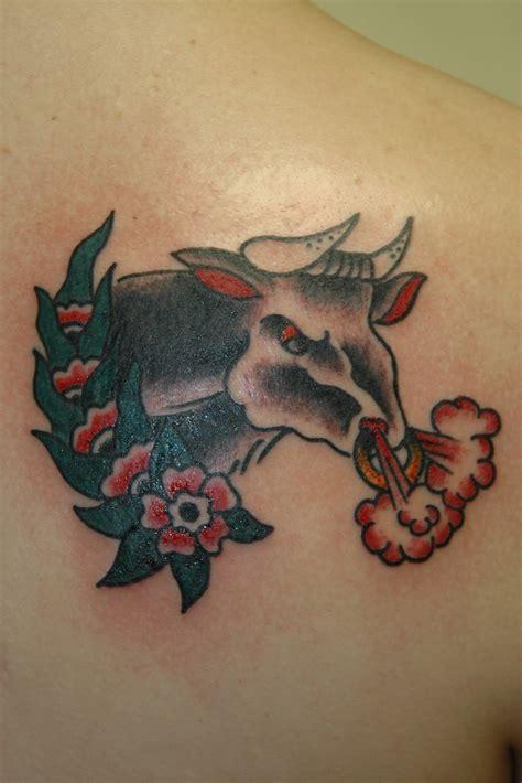 bull tattoo design sheclickcom