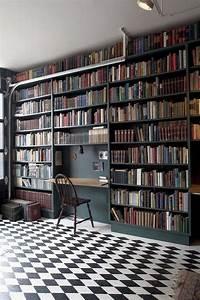 19, Ideas, Of, Home, Libraries, Interiordesignshome, Com