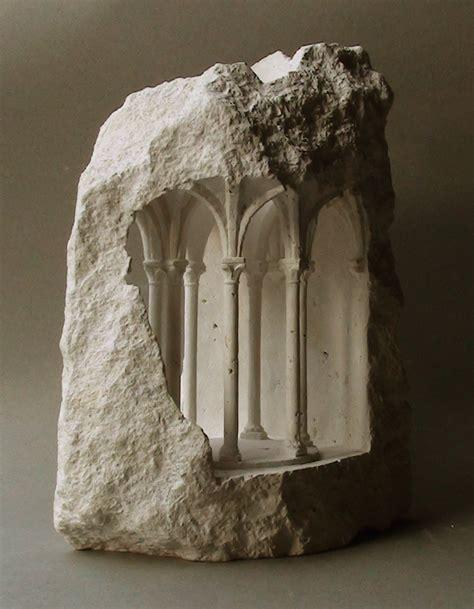 miniature stone sculptures  matthew simmonds ignantcom