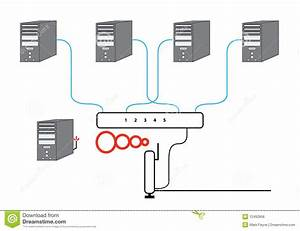 Network Router Wiring Diagram