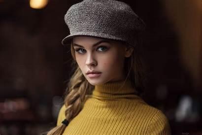 Hat Anastasia Scheglova Portrait Cap Woman Shcheglova
