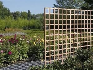 Treillis Pour Plantes Grimpantes : treillis de maillage carr en bois exotique id al pour les ~ Premium-room.com Idées de Décoration