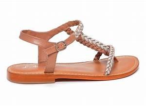 sandales nu pieds Atelier tropezien Pb692