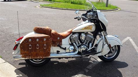 this is a 2014 indian chieftain that i sold and my customer took delivery today normally the