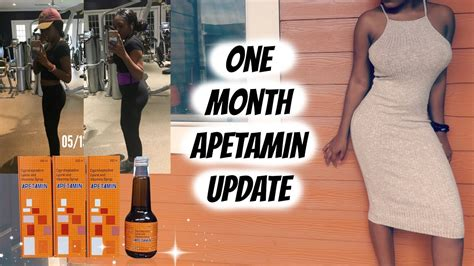 110lbs-130lbs!! One Month Apetamin Update || What I Eat