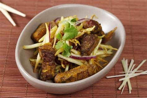 recette de wok de boeuf au curcuma et à la citronnelle