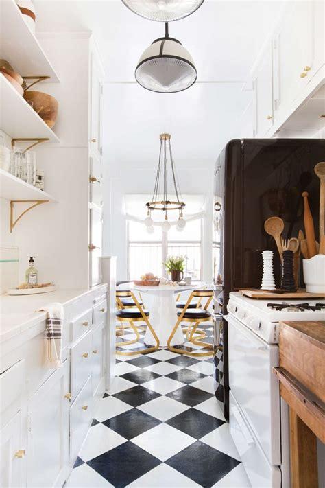 kitchen vinyl flooring ideas  inspiration hunker