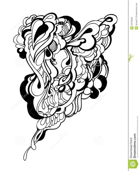black and white graphic design abstract graphic design in black and white stock vector