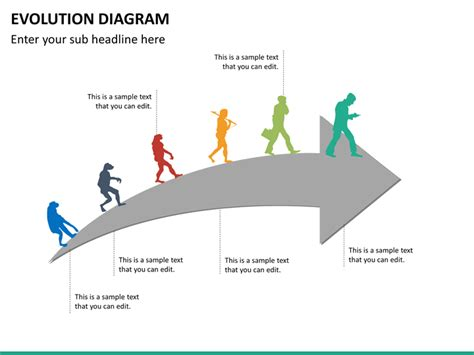 Diagram Of To by Evolution Powerpoint Template Sketchbubble