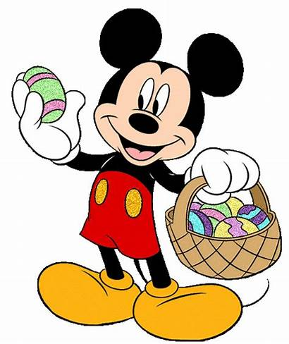 Mickey Mouse Easter Disney Minnie Friends Drawings