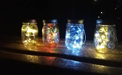 solar lights  garden mason jar lights waterproof