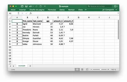 Excel Python Archivos Guardar Leer Archivo Lectura