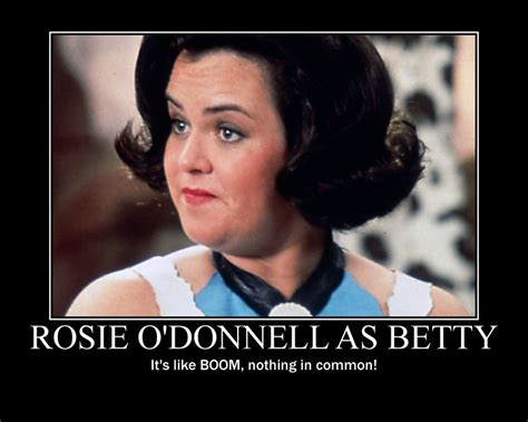 Rosie O Donnell Memes - rosie o donnell in the flintstones movie by johnmarkee1995 on deviantart
