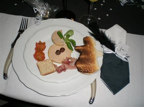 decoration foie gras entree
