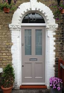 taupe, front, doors