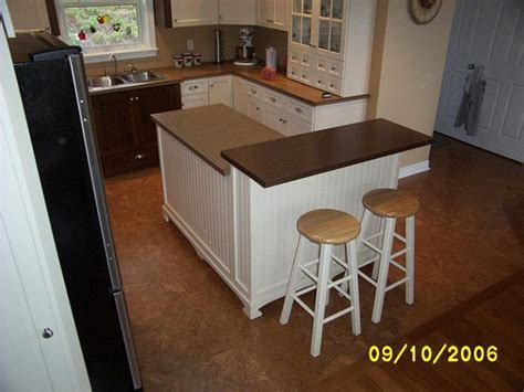 building a kitchen island with seating diy kitchen island woodchuckcanuck 9333