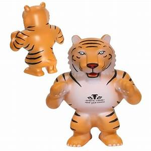 Squeeze Tiger Stress Balls - Custom Printed | Save up to 44 %
