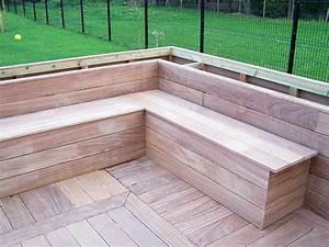 Bois De Terrasse : banc terrasse bois fashion designs ~ Preciouscoupons.com Idées de Décoration