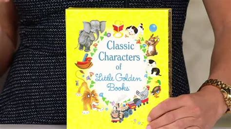 Classic Characters Of Little Golden Books Boxed Set —