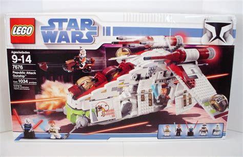 Outdoor Ceiling Fans Amazon by Lego Star Wars Republic Gunship Set 7676 Nib Factory
