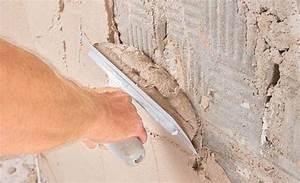 Feuchte Wand Verputzen Kellerwand Verputzen Feuchten Keller