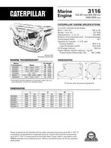 3116 cat engine specs cat 3116 engine