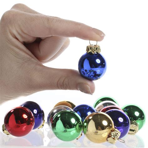 miniature glass ball ornaments christmas ornaments