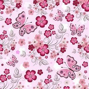 Vivid Flower pattern design vector graphic 01 - Vector ...