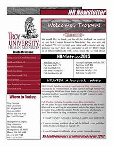 9 sample employee newsletter templates free pdf format With hr newsletter template