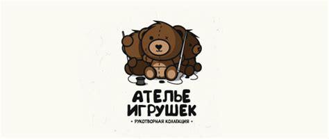 26 Inspiring And Delightful Teddy Bear Logos