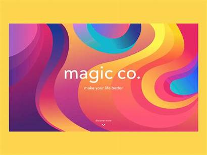 Vivid Colors Typography Designs Graphic Trends Popping