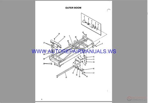 skytrak jlg telehandlers parts manual auto repair