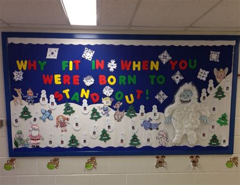 christmas decorations for the land of misfits bulletin board island of misfit toys creating a positive self image