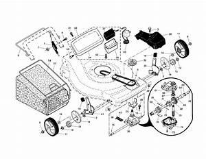 917 376746 Craftsman Lawn Mower 650 Briggs Engine 22 In