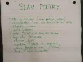 Poetry Slam Poems Examples