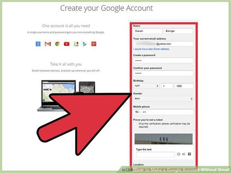 How To Make A Google Account Without Gmail 8 Steps