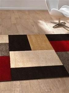 tapis contemporain pablo saint maclou deco brico With tapis chez saint maclou