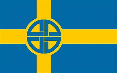 Nordic Flag Sweden Fascist Youth Wikia Vignette