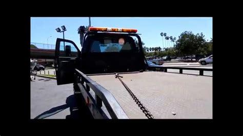 chevrolet  kodiak rollback tow truck flat bed
