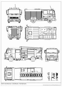 13 Cad Drawing Fire Truck For Free Download On Ayoqq Org