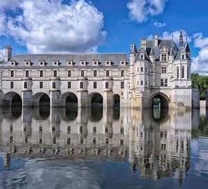 Ladies Castle Castle Of Chenonceau Val De Loire France