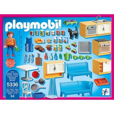 cuisine avec coin repas playmobil dollhouse 5336 la grande récré vente de jouets et jeux la