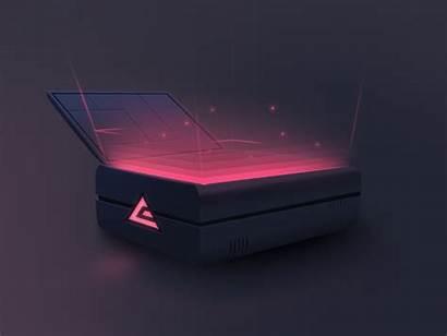 Csgo Custom Case Dribbble 3d Creative Box