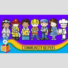 Community Helpers  Nursery Rhyme  Animated Karaoke Youtube