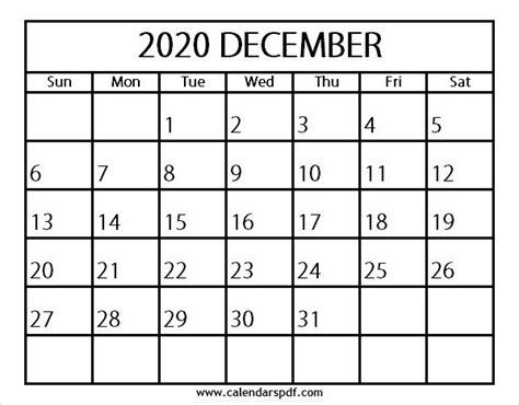 calendar december template design blank calendar