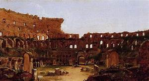 Interior of the Colosseum, Rome, 1832 - Thomas Cole ...