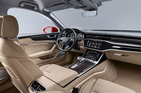 2019 Audi A6 Front Interior 1  Motor Trend