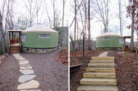 Staying At The Sky Ridge Yurts Near Bryson City