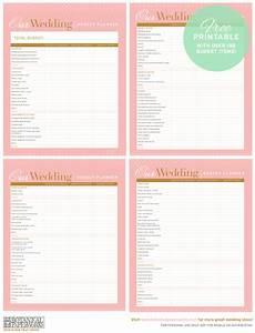 free printable wedding budget planner blog botanical With wedding budget book