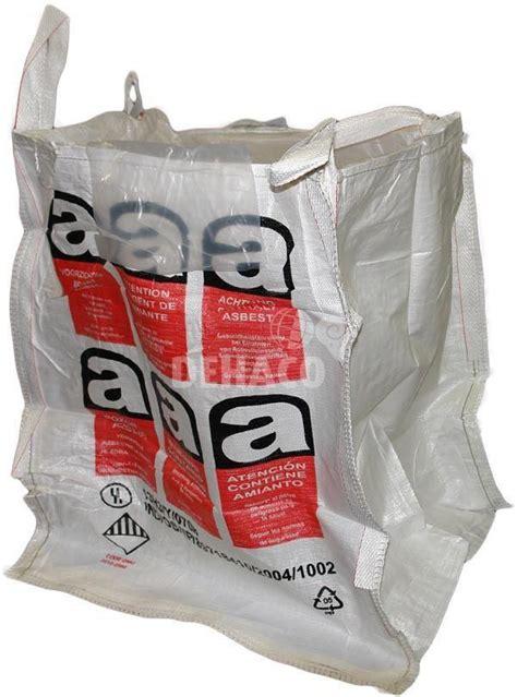 big bag xx cm  asbestos imprint  single liner